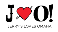 Jerry's Loves Omaha Logo